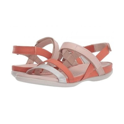 ECCO エコー レディース 女性用 シューズ 靴 サンダル Flash Ankle Strap Sandal - Alu Silver/Apricot/Rose Dust