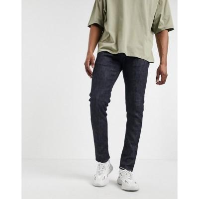 エドウィン Edwin メンズ ジーンズ・デニム スキニー ボトムス・パンツ ED85 skinny fit jeans in dark wash ブルー