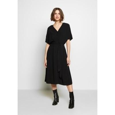 セレクテッドフェム レディース ワンピース トップス SLFVIENNA DRESS - Day dress - black black