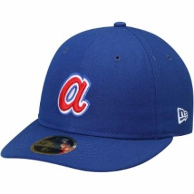 New Era ニュー エラ スポーツ用品  New Era Atlanta Braves Royal Cooperstown Collection Fan Retro 59FIFTY Fitted Hat