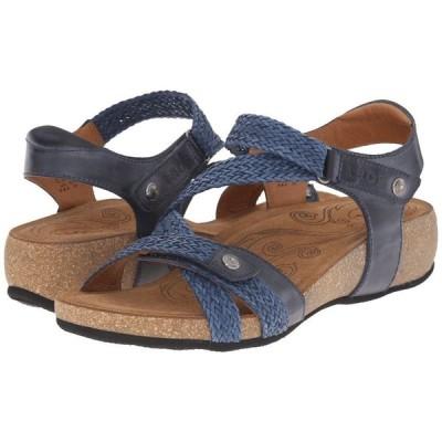 タオス Taos Footwear レディース サンダル・ミュール シューズ・靴 Trulie Navy