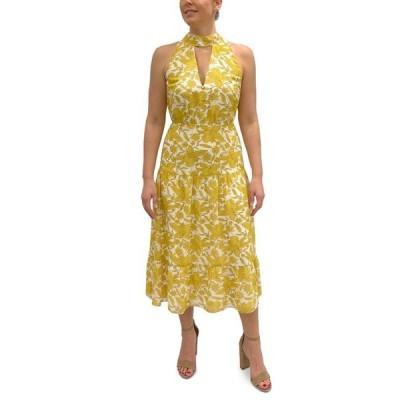 サムエデルマン レディース ワンピース トップス Printed Halter Maxi Dress