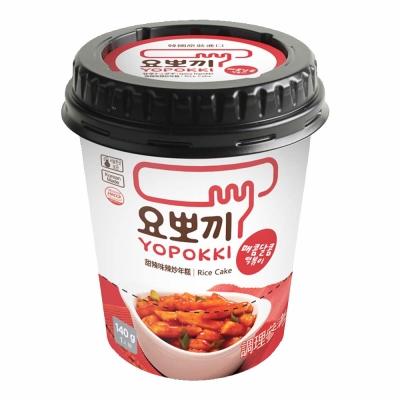 Yopokki 甜辣味辣炒年糕(140g)