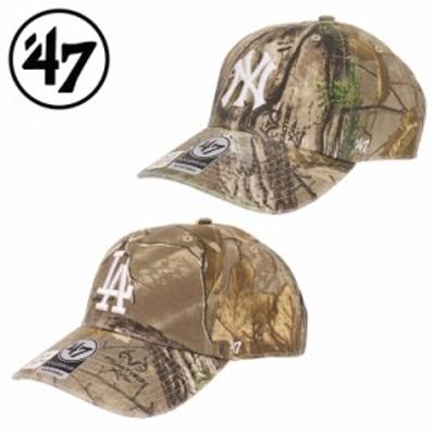 47 キャップ ヤンキース ドジャース クリーンナップ メンズ レディース 帽子 リアルツリーカモ '47bland