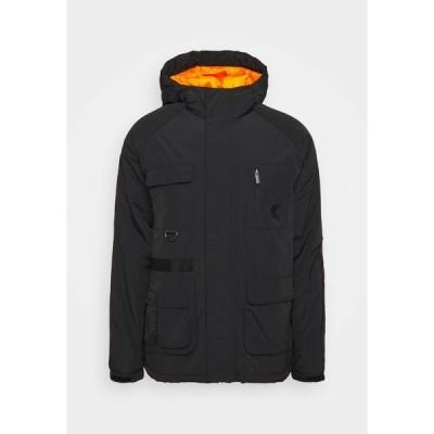 カール カナイ ジャケット&ブルゾン メンズ アウター SIGNATURE UTILITY JACKET - Winter jacket - black