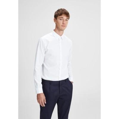 ジャック アンド ジョーンズ シャツ メンズ トップス Shirt - white