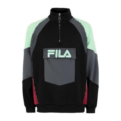 FILA HERITAGE スポーツTシャツ ファッション  メンズファッション  トップス  Tシャツ、カットソー  半袖 ブラック