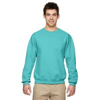 アンブランデッド 50/50 Nublend Fleece メンズ Crew-Neck Scuba Blue Sweater Blue
