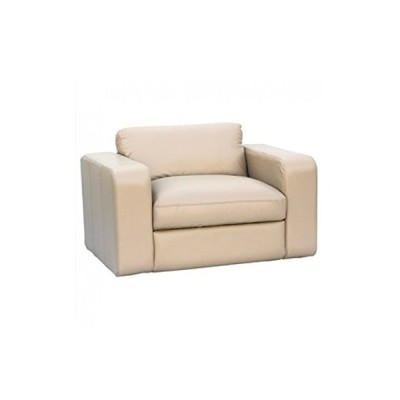 Artikle Leather Single Seater Sofa