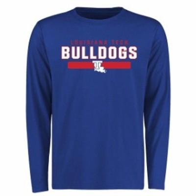 Fanatics Branded ファナティクス ブランド スポーツ用品  Louisiana Tech Bulldogs Royal Team Strong Long Sleeve T-