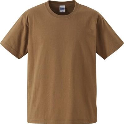 UnitedAthle ユナイテッドアスレ 7.1オンスTシャツ オープンエンドヤーン  425201C ダークキャメル