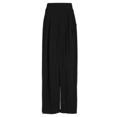 MALLONI パンツ ブラック 40 レーヨン 97% / ポリウレタン 3% パンツ