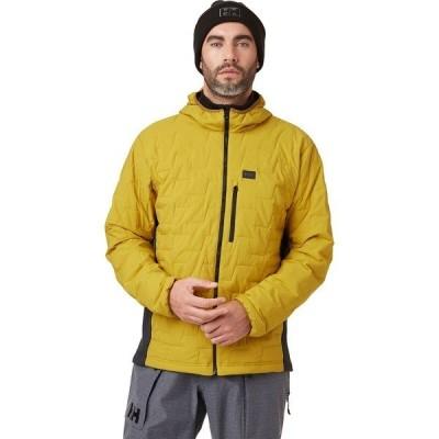 ヘリーハンセン ジャケット&ブルゾン メンズ アウター Lifaloft Hooded Stretch Insulator Jacket - Men's Antique Moss
