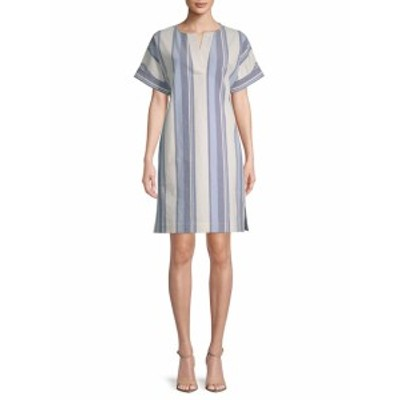 ラファイエット148ニューヨーク レディース ワンピース Nazeen Striped Shift Dress
