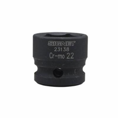シグネット 1/2DR インパクト用ショートソケット 23138