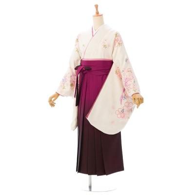 レンタル袴 着物 卒業袴 貸衣装 女袴 袴セット レンタル  R1015_E-H050-23-7 148cm〜153cm