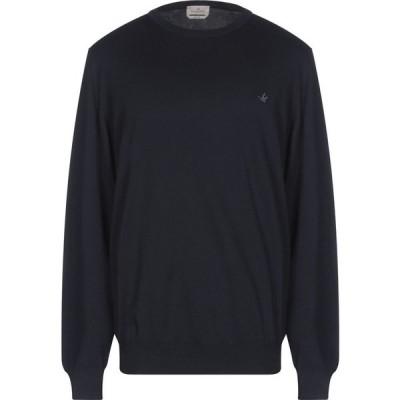 ブルックスフィールド BROOKSFIELD メンズ ニット・セーター トップス sweater Dark blue
