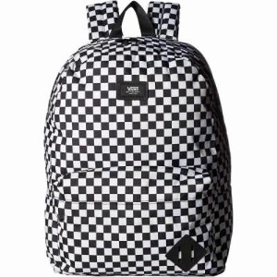 ヴァンズ Vans メンズ バックパック・リュック バッグ Old Skool III Backpack Black/White Check