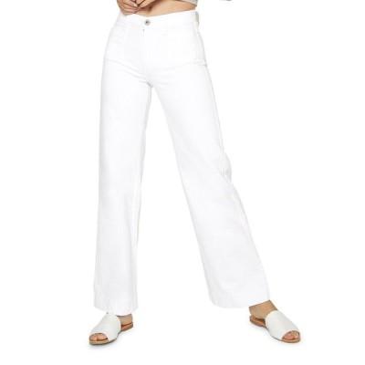 ジェイムスジーンズ レディース デニムパンツ ボトムス Caroline Flat Patch Pocket Wide-Leg Jeans