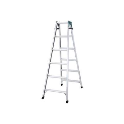 【代引不可】 ハセガワ アルミはしご兼用脚立 ステップ幅広タイプ RS型 3段 【RS2.009】