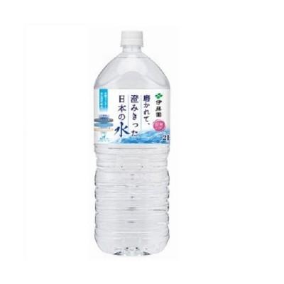 伊藤園 磨かれて澄みきった日本の水(信州) PET 2Lx6本