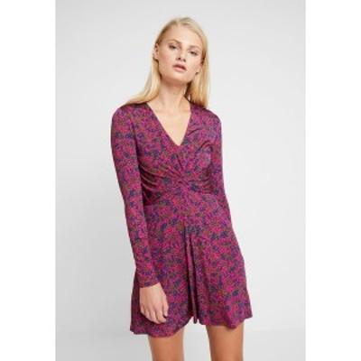 サムスサムス レディース ワンピース トップス ELSI SHORT DRESS - Jersey dress - moonlight moonlight
