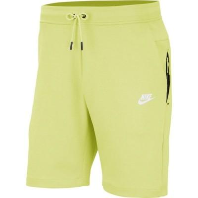 ナイキ Nike メンズ ショートパンツ ボトムス・パンツ NSW Tech Fleece Shorts Limelight/White
