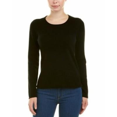 ファッション トップス Incashmere Rolled Neck Cashmere Sweater L Black