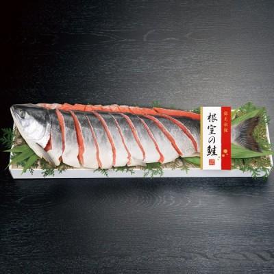 根室の鮭 E-NB 約1.4kg 詰合せ 鮭 魚介 冷凍 秋鮭1尾姿切 シャケ 秋鮭 北海道産 国産 秋鮭切身セット
