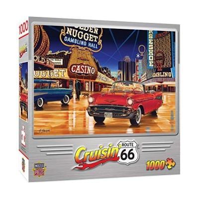 ジグソーパズル 海外製 アメリカ 71516 MasterPieces Cruisin' Route 66 1000 Puzzles Collection - Ga