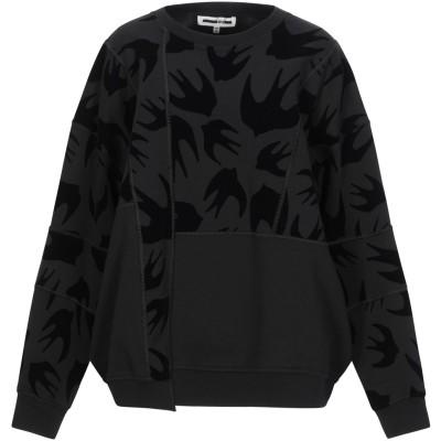 マックキュー アレキサンダー・マックイーン McQ Alexander McQueen スウェットシャツ ブラック S コットン 100% / ポリ