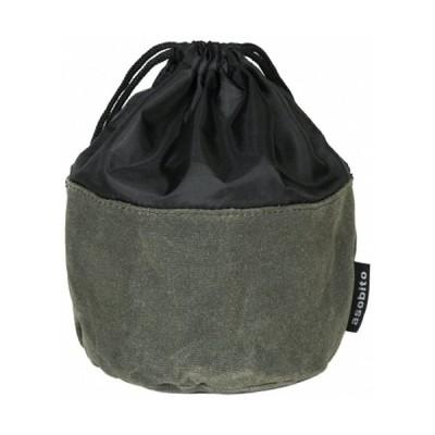 アソビト OD缶ケース (ab-034) /  キャンプ 登山 ストレージバッグ 防水帆布 ガス缶 ガスカートリッジ 小物入れ