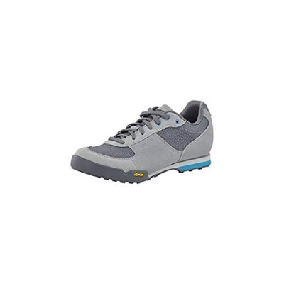 Giro Petra VR Womens Mountain Cycling Shoe − 43, Titanium/Blue Jewel (2020)