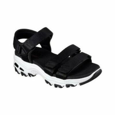 SKECHERS スケッチャーズ ファッション サンダル Skechers Womens  DLites Fresh Catch Ankle Strap Sandal