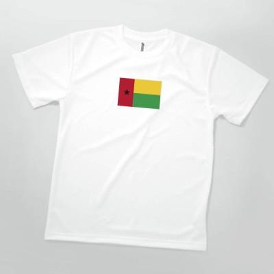 Tシャツ ギニアビサウ共和国 国旗