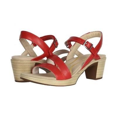Naot ナオト レディース 女性用 シューズ 靴 ヒール Bounty - Kiss Red Leather