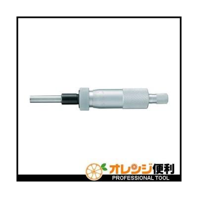 新潟精機 SK マイクロメータヘッド 測定範囲0〜25mm ストレート・クランプ付 1703-010 【377-4694】