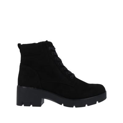 MTNG ショートブーツ ブラック 40 紡績繊維 ショートブーツ
