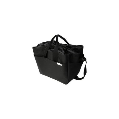 MIKETTO保冷のできるレジかごバッグ「ROUGH/ラフ」 ブラック オカトー[01]