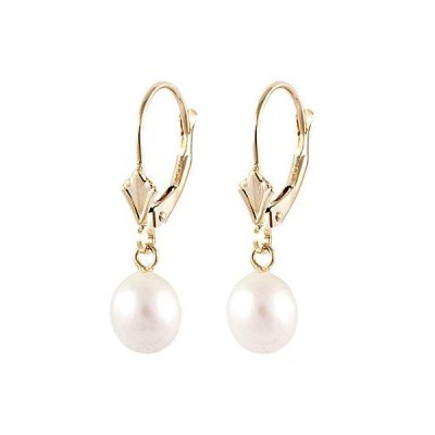 レディース アクセサリー  Splendid Pearls 14K 6.5-7mm Freshwater Pearl Earrings