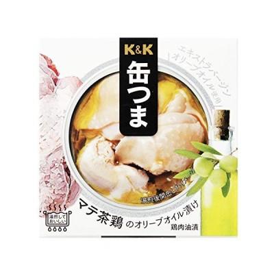 K&K 缶つまR マテ茶鶏オリーブオイル漬 150g