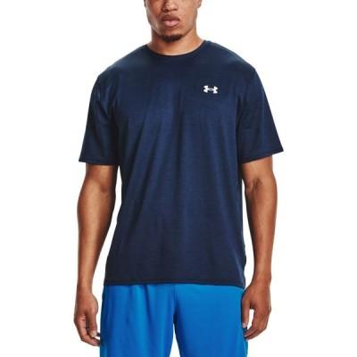 アンダーアーマー Under Armour メンズ フィットネス・トレーニング Tシャツ トップス Training Vent 2.0 T-Shirt Academy/White