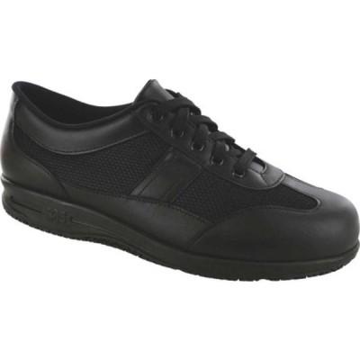 エスエーエス サンダル シューズ レディース Reverie Work Oxford (Women's) Black Water Resistant Leather/Mesh