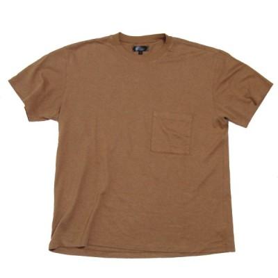 evan kinori 2020SS Pocket Tee/ポケットTシャツ ブラウン サイズ:L (三宮店) 200705