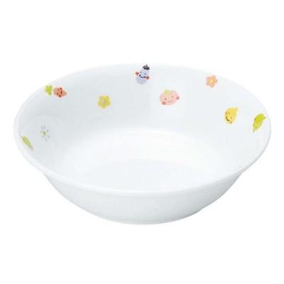 リ・おぎそ 子ども食器シリーズ 深皿 12.8cm 1044-1230