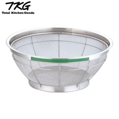 TKG NEWマンモス カラー 浅型ざる 35cm グリーン AZL4732 7-0249-0432 4905001114083  遠藤商事