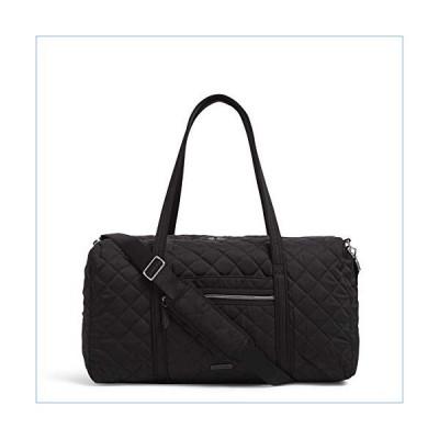 Vera Bradley Women's Performance Twill Lay Flat Travel Duffel Travel Bag, Black, One Size並行輸入品