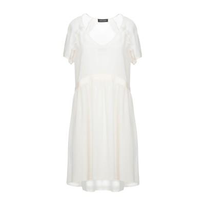 ツインセット シモーナ バルビエリ TWINSET ミニワンピース&ドレス アイボリー 42 ポリエステル 100% ミニワンピース&ドレス