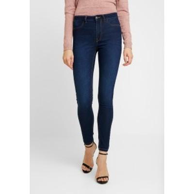ジェイディーワイ レディース デニムパンツ ボトムス Jeans Skinny Fit - dark blue denim dark blue denim
