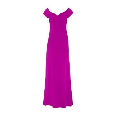 BADGLEY MISCHKA ロングワンピース&ドレス フューシャ 4 ポリエステル 98% / ポリウレタン 2% ロングワンピース&ドレス